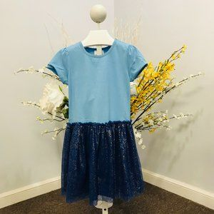 Hanna Andersson girls short-sleeved size 120 dress